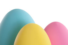 Easter egg border Stock Photography