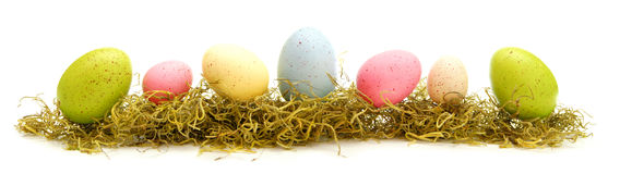 Easter Egg border Royalty Free Stock Photos