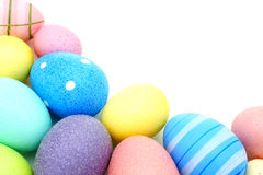 Easter egg border Stock Image