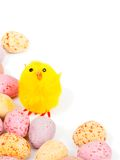 Easter egg border Stock Photo