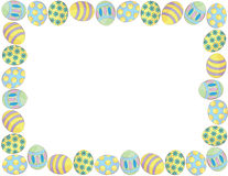 Easter Egg Border Royalty Free Stock Image