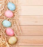 Easter Egg Border royalty free stock images