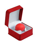 Easter egg in a box Royalty Free Stock Photo