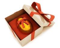 Easter egg in box Stock Image