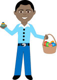 Easter Egg Boy 2 Stock Photography