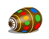 Easter Egg Brown Royalty Free Stock Images