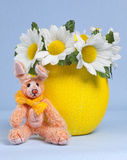 Easter Egg with Bunny Royalty Free Stock Photo