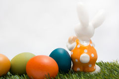 Easter_egg_bunny Obraz Stock