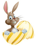 Easter Egg Bunny Royalty Free Stock Photography