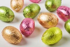 Easter egg candies Royalty Free Stock Image
