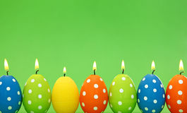 Free Easter Egg Candles Stock Photo - 13169910