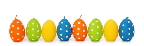 Free Easter Egg Candles Stock Photography - 13220282
