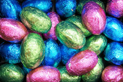 Easter Egg candy background Royalty Free Stock Photos