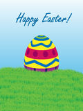 Easter Egg Card 2 Royalty Free Stock Photo