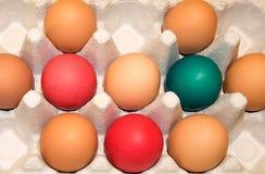 Easter Egg Carton Royalty Free Stock Photos