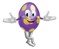 Easter Egg Character Royalty Free Stock Image