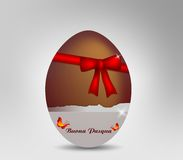 Easter Egg Chocolate Royalty Free Stock Images