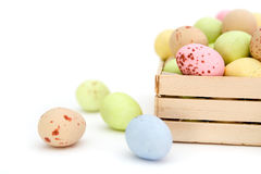 Easter egg chocolate candy Stock Image