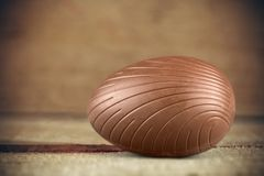 Easter Egg. Easter Chocolate Candy Isolated Food Single Object Stock Photography