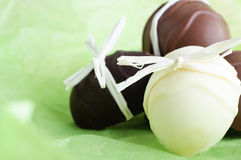 Easter Egg Chocolates Stock Photos
