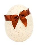 Easter egg with clipping path Stock Photography