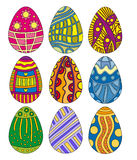 Easter Egg Collection Stock Photography