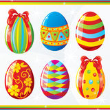 Easter egg collection Royalty Free Stock Photo