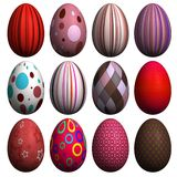 Easter Egg Collection Stock Image