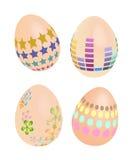 Easter egg color. Illustraion 3d easter egg color Stock Photo
