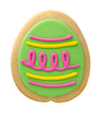 Easter Egg Cookie royalty free stock photos
