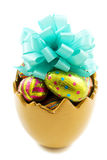 Easter egg cup Stock Photos
