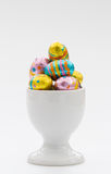 Easter Egg Cup Royalty Free Stock Photo