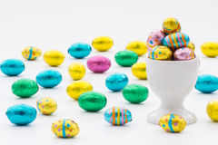 Easter Egg Cup Stock Image