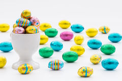 Easter Egg Cup Royalty Free Stock Image