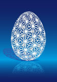 Easter egg with 3D pattern, vector Stock Photos