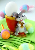 Easter egg decorating Royalty Free Stock Images