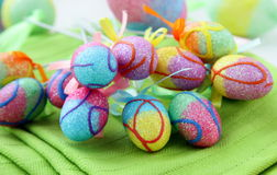 Easter egg decorating Royalty Free Stock Photos