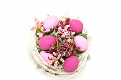 Easter egg decoration Royalty Free Stock Images