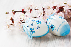 Easter egg decoration Stock Images