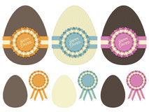 Easter egg decorations Royalty Free Stock Images