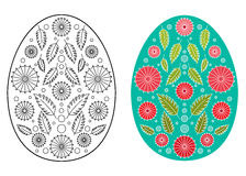Easter egg design Royalty Free Stock Photo
