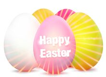 Easter Egg Design colorful graphic illsutration design Stock Photo