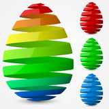 Easter egg design. Stock Photo