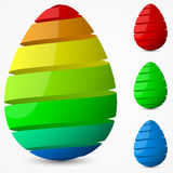 Easter egg design. Stock Image