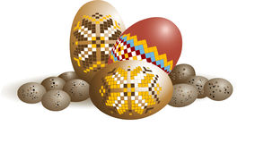 Easter egg. Design . Wallpaper. Background. Stock Image