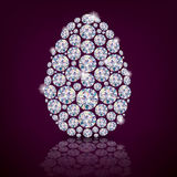 Easter egg diamond Royalty Free Stock Photo