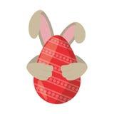 easter egg ear rabbit decoration Stock Photos