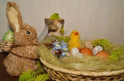 Easter egg - Easter decoration Stock Images