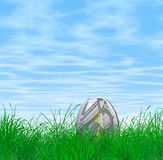 5 Euro Easter egg Royalty Free Stock Images