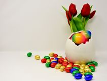 Easter Egg, Flower, Easter, Material royalty free stock photography
